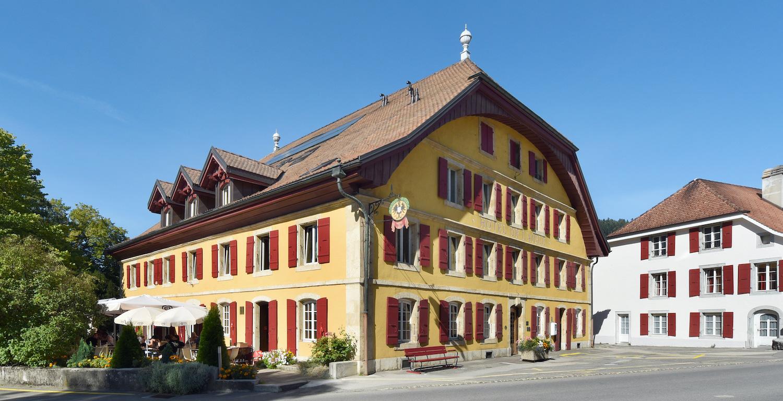 Hôtel de l'Aigle à Couvet, Val-de-Travers
