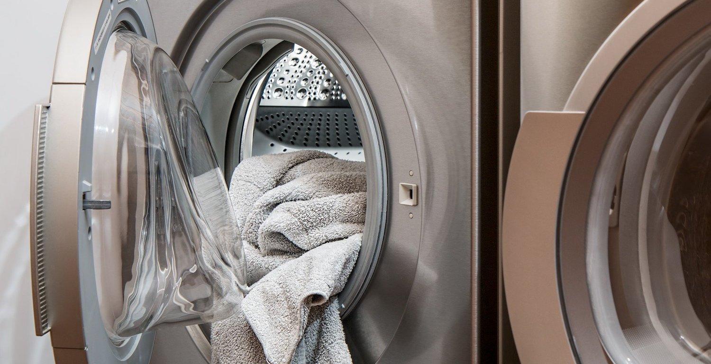 Machine à laver le linge à l'Hôtel de l'Aigle